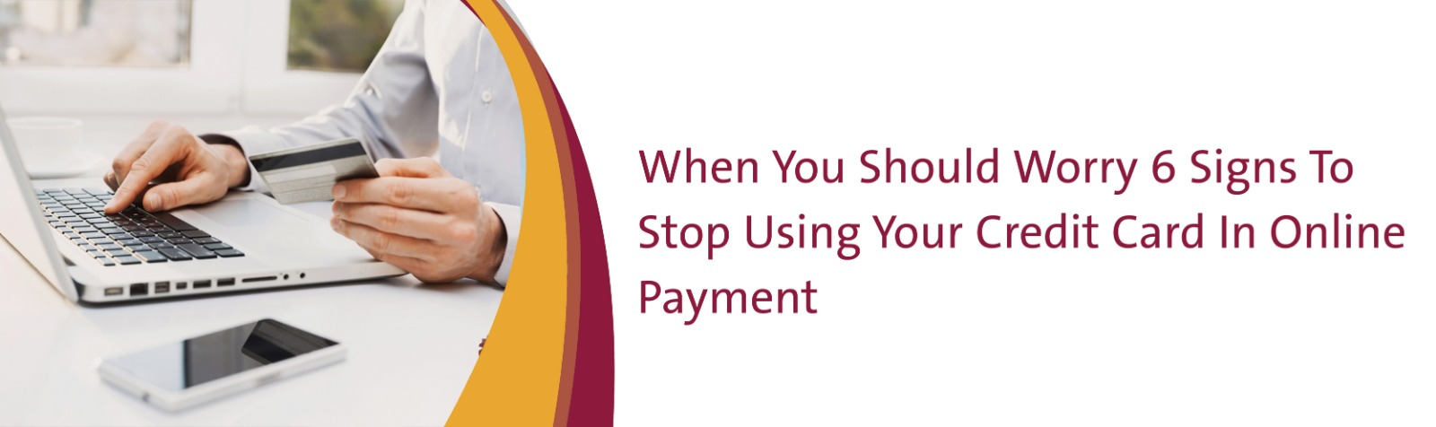 6 Signs To Stop Using Your Credit Card In Online Payment - Sadad Payment Solutions - Sadad.qa - banner