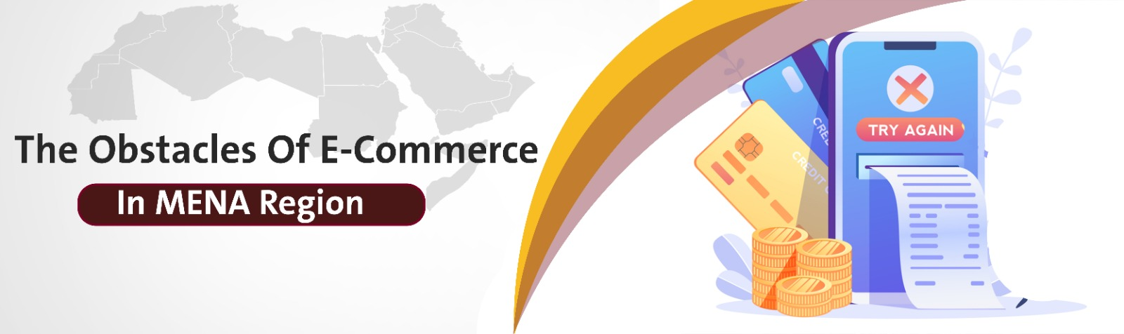 The Obstacles Of E-Commerce In MENA Region | ٍSadad Article banner